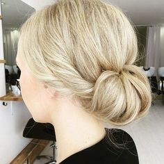 Low+Tuck+Updo