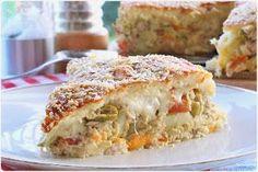 O melhor restaurante do mundo é a nossa Casa: Torta Salgada com sobras de arroz