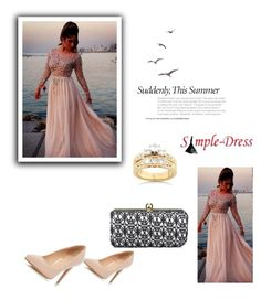 """""""Simple Dress I / 18"""" by melodibrown ❤ liked on Polyvore featuring Kobelli and Dorothy Perkins"""