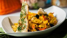 Penne pasta served with a creamy and mildly sweet and perfectly spiced mango sauce is a simple, yet