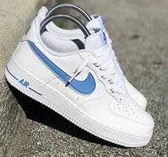 watch 6647e 7db17 NIKE AIR FORCE 1 UNC WHITE Nike Shoes Air Force, Nike Air Max, Air