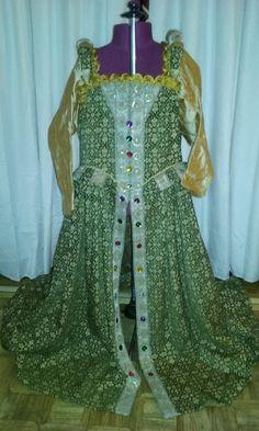 Renaissance Brocade Overdress