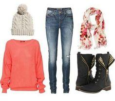 Add some colour to winter wardrobe