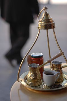 Coffee in the Center of Heraklion, Greece ● ♔LadyLuxury♔
