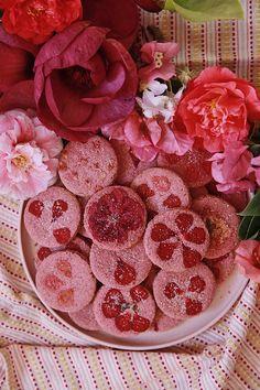 Raspberry Rose Geranium Cookies – Design*Sponge