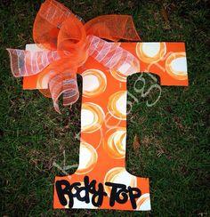 Tennessee Volunteer Door hanger  football door hanger by paintchic, $34.00