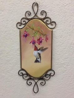 Painting birds Mundo da Arte Atelier pintura   colibri beija-flor