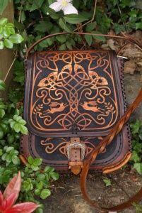 Celtic knotwork tree of life.