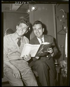Andy Griffith and Tennessee Ernie Ford
