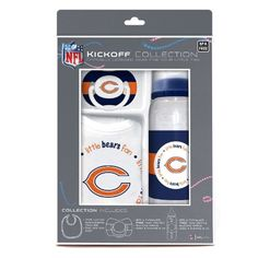 NFL Chicago Bears Baby Gift Set Discontinued by Manufacturer *** Continue to the product at the image link.-It is an affiliate link to Amazon.