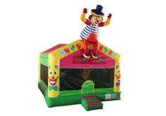 Clown Indoor Bounce House For Kids-TOYS INFLATABLES