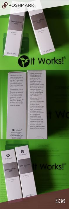 It works Global  exfoliating peel It works Global exfoliating peel for face and neck. It works Global Other