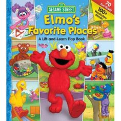 Sesame Street Elmo's Favorite Places Board Book