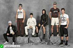 chicos  blanco  negro  chandal  deporte  ropa  moda  hombre 2204c8dfbc68