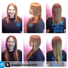 #Repost from @meganfarmer409 --- Dianna's new hair! We added 25 hot head extensions to create several extra inches in length and tons of fullness! @hotheadshairextensions #longhairdontcare #hotheadhairextensions #freshairsalon #stylistmeganfarmer @meganfarmer409  #fayettevillear