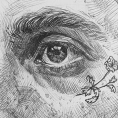 """-,' L I L T O N Y ',- ( """"ten eyebollz from my almost filled but basically filled sketchbook. an update from my…"""" Art Sketches, Art Drawings, Photographie Portrait Inspiration, Art Hoe, Realistic Drawings, Art Sketchbook, Love Art, Art Inspo, Les Oeuvres"""