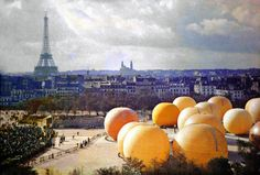 The City of Paris 100 Years Ago in Color
