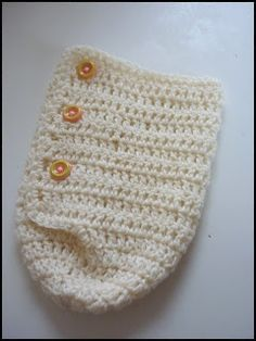 Free Crochet Baby cocoon Patterns | snuggle cuddle cocoon free crochet pattern repinned from crochet by ...
