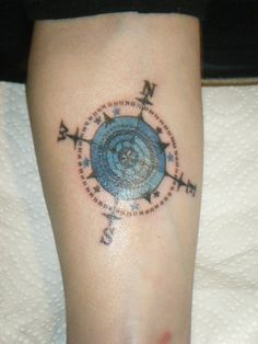 Compass - tattoo maybe?