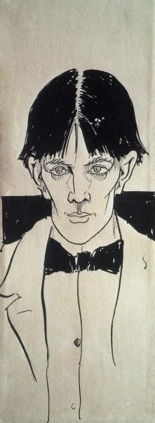 Aubrey Beardsley - Self Portrait - art prints and posters