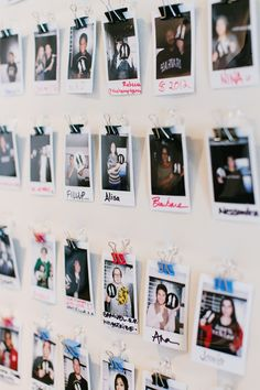 Unseen Heroes collection of visitors who come through. Office inspiration.