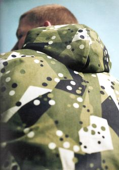 Graphic Camo Print from Denim Demon - Drapers #liveinprint #yrstore #camo