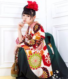 1723-S1のカワイイ袴セット