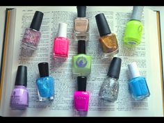 The Nail Polish Dictionary - super helpful if you are new to the nail polish/nail art community!