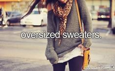 #fall #fashion #2013 #oversized #sweaters