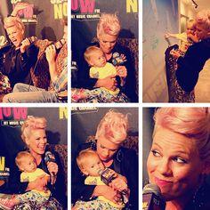 Awwww... Mama P!nk