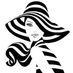"281 Likes, 17 Comments - JASON BROOKS (@jasonbrooksart) on Instagram: ""New today...#stripey #fashionillustration #fashion #illustration #inspiration #ink #drawing #line…"""
