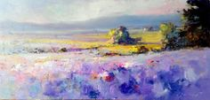 Buy Purple Meadows, Oil painting by Ivica Petras on Artfinder. Discover thousands of other original paintings, prints, sculptures and photography from independent artists.