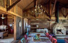 Casa de madera reciclada. Hermosa!