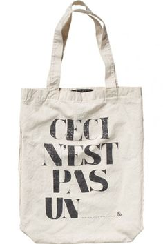 Very highbrow. Click through for more summer totes!