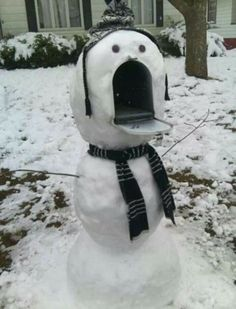 Snowman Mailbox | Awesome