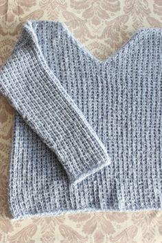 De 8 beste bildene for Skappelstrikk | strikk, genser, tovet