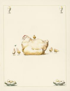 Afternoon tea Chicken Art, Chickens And Roosters, Eggs, Birds, Ideas, To Draw, Egg, Bird, Thoughts