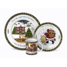 Portmeirion A Christmas Story 3-Piece Dinner Set
