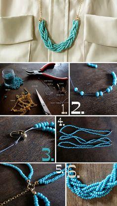 braided-bead-necklace-diy.jpg 525×923 pixels