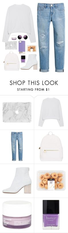 """""""The club isn't the best place to find a lover So the bar is where I go"""" by katelyn-love1 ❤ liked on Polyvore featuring Acne Studios, White House Black Market, Deux Lux, Maison Margiela, Korres, Butter London, Case Scenario and katelynfashion"""