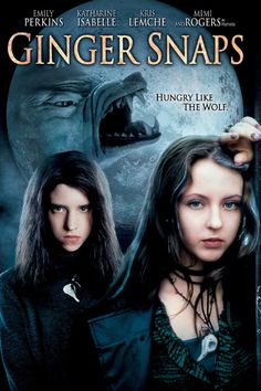 Ginger Snaps - Review: Ginger Snaps (2000) is a good werewolf movie featuring two gothic sisters who are always taking dead… #Movies #Movie