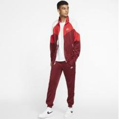 Nike Sportswear Windrunner Herrenjacke - Rot NikeNike