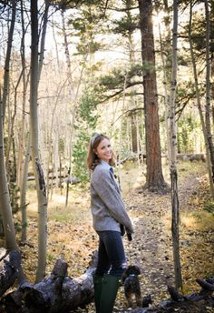 Camping in Flagstaff - Zara VNeck Jacket Sweater