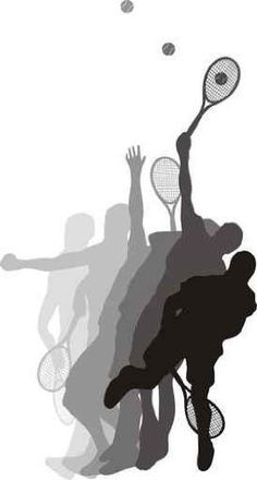 """Tennis Player - 60""""H x 32""""W - Peel and Stick Wall Decal by Wallmonkeys by Wallmonkeys Wall Decals, http://www.amazon.com/dp/B004OO7B0U/ref=cm_sw_r_pi_dp_pA1Zrb0A4JN6W"""