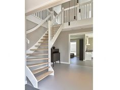 Modelwoningen Sweet Home, Villa, Stairs, Heart, Home Decor, Open Staircase, Build House, Stairway, Decoration Home