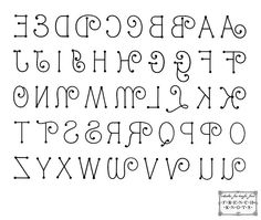 Lettertype  Knutsel    Alphabet Templates And