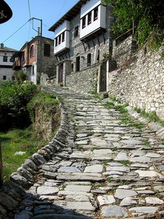 Makrynitsa village at Pelion Mountain, Greece Beautiful Islands, Beautiful Places, Places To See, Places Ive Been, Thessaloniki, Greece Travel, Countryside, The Good Place, National Parks