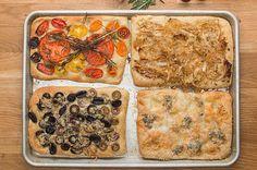 Herbed Flatbread (Focaccia) 4 Ways