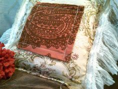 """One of our homemade dream or prayer pillows.  Comes with an herbal packet either """"Sweet Dreams"""" or """"Astral Travel"""".  Or, put your own prayers and meditations in the little pocket."""