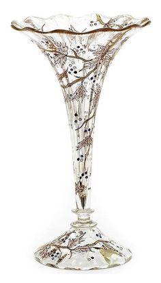 Daum  glass  Art Nouveau